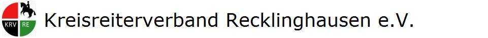 Die Seite des Kreisreiterverbandes Recklinghausen